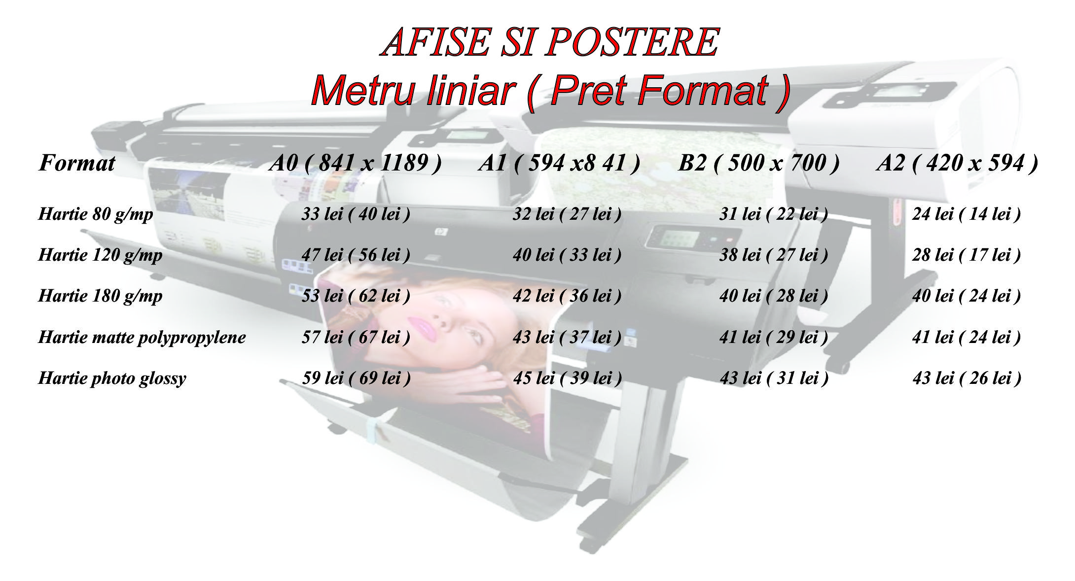 afise si poster